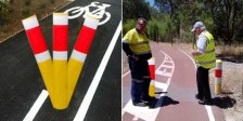 MRWA_bike_path_bollards